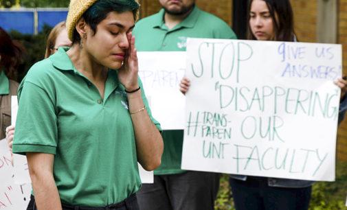 McNair Scholars protest director's resignation