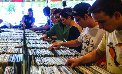 Record Store Day spins through Square