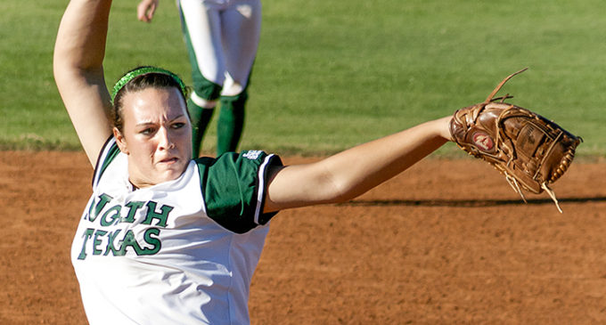Sophomore pitcher follows in sister's footsteps