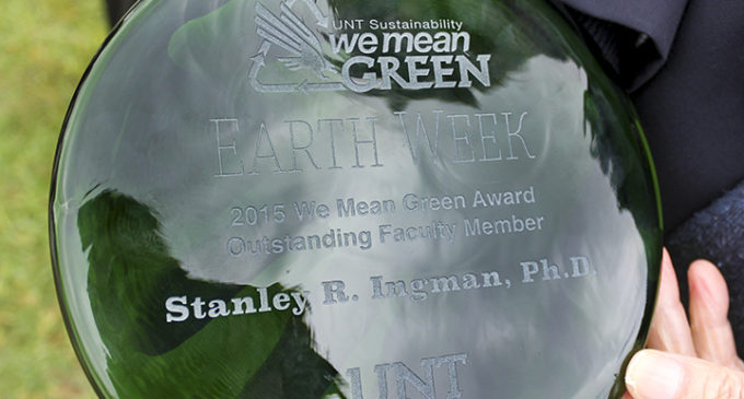 Annual Earth Week awards recognize green thinkers