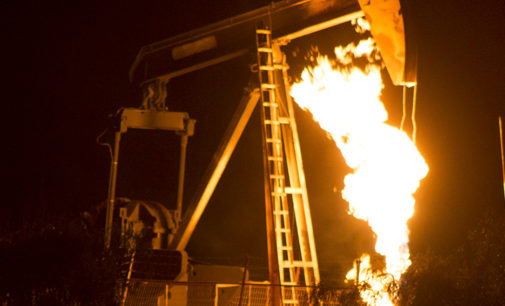 Natural gas well explodes in Denton