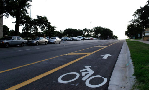 Denton now has 8.5 miles of bike lanes, a goal of the city's Master Plan