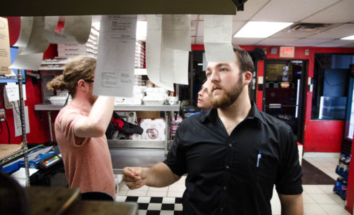 Knights of pizza: a day in the life told through delivery