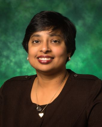 Nandika D'Souza, University of North Texas Regents Professor of mechanical and energy engineering and associate dean of undergraduate studies in UNT's College of Engineering, has been named the 2015 Society of Women Engineers Distinguished Engineering Educator. Courtsey UNT
