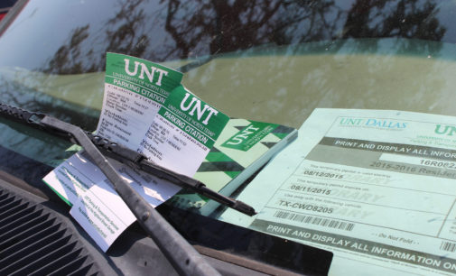 Campus parking office splits from UNT Police Department