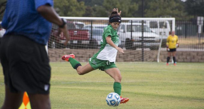Soccer team tops MTSU 2-1 in physical affair