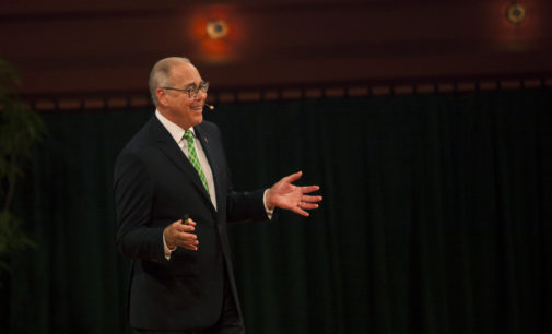 Smatresk to update UNT community today at Murchison Performing Arts Center