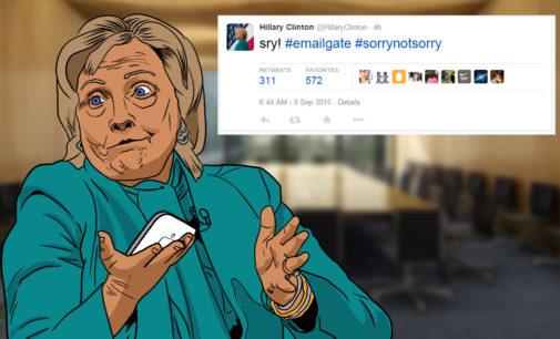 Cartoon: #Sorrynotsorry