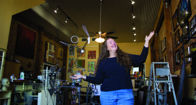 Local art studio rises from the ashes