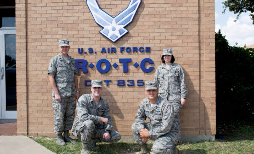 Flying to the Future: Air Force R.O.T.C. commander leads cadets to success