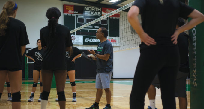 Volleyball has North Texas roots beyond university