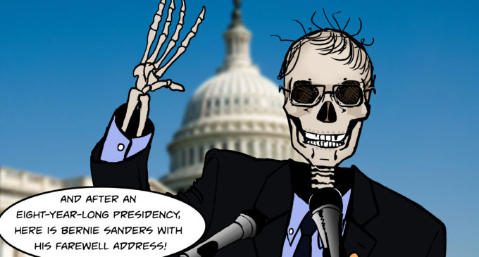 Cartoon: Boney Sanders for President