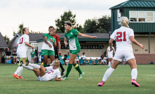 Physical play lights fire under Mean Green soccer team