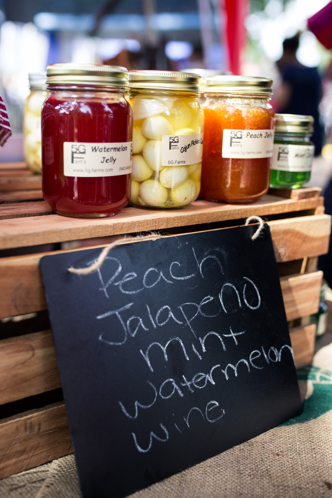 The farm's homemade jelly is Tricia's favorite product. Jordan's mother makes the jellies using her family recipe.