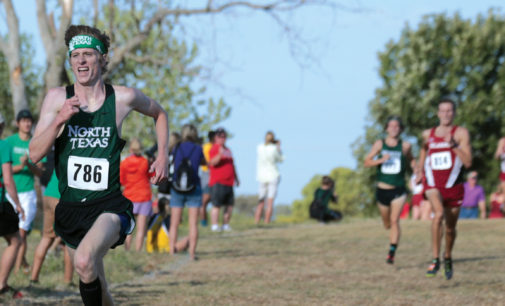 Senior runner Troy Taylor leading men's cross country team toward national stage