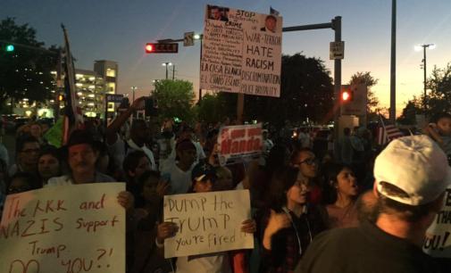Trump rallies in Dallas