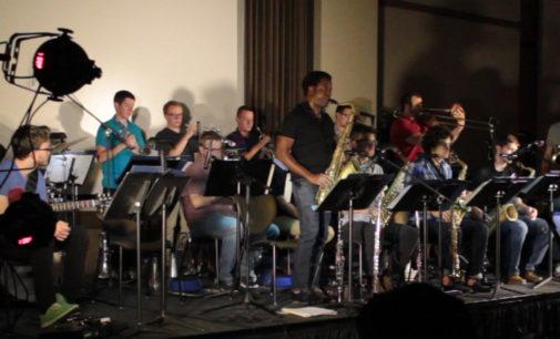 Video: UNT jazz swings into fall semester
