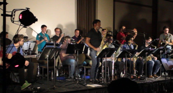 Video: UNT jazz swings into fall semester