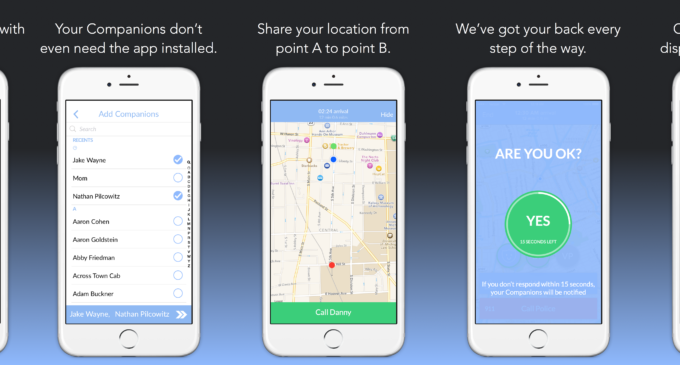 New app provides safety net for those who feel unsafe walking alone
