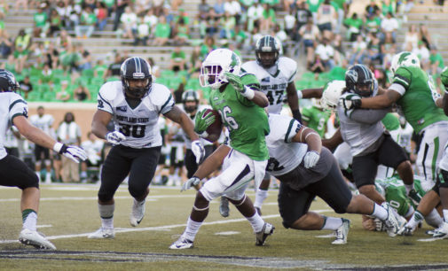 Football team falls to Marshall for seventh straight loss