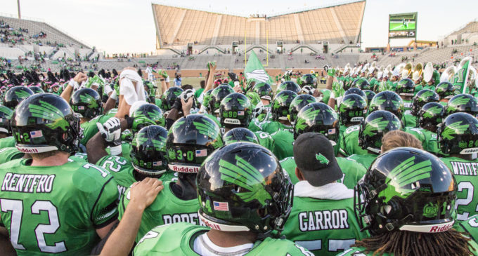 QB DaMarcus Smith both electric and inconsistent in Mean Green debut