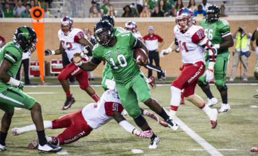 North Texas football shut out at Tennessee 24-0