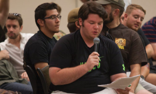 Firearms, gun-free zones and PTSD discussed at first campus carry open meeting