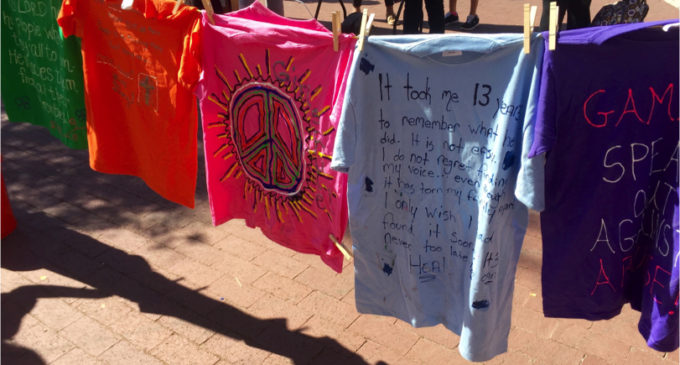 Clothesline Project hosts first event at Discovery Park