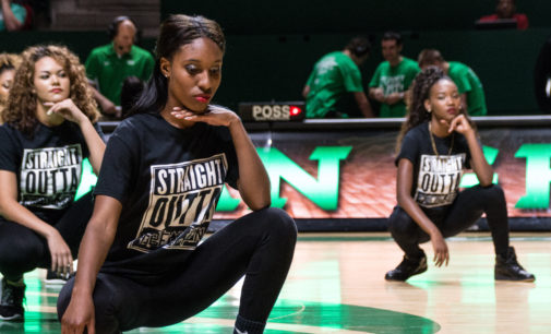 "Annual basketball fan-event ""Mean Green Madness"" showcases both teams"