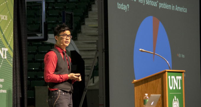 Activist Simon Tam and a discussion about racism