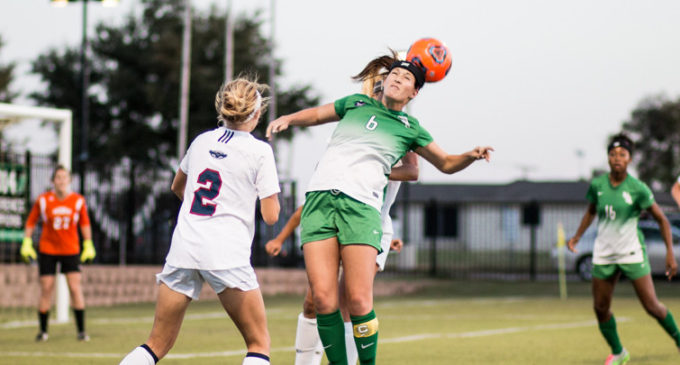 Soccer team blanks Old Dominion 2-0 on road