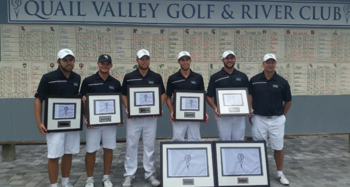 Rosenmueller leads men's golf to first place finish in fall finale
