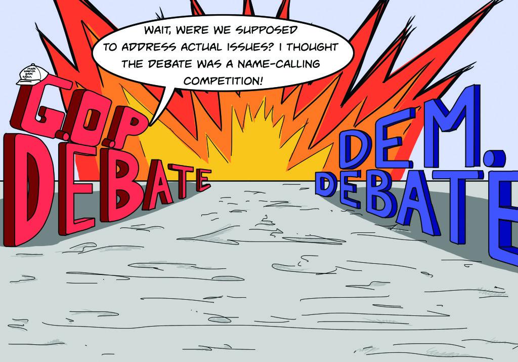 debate confusion