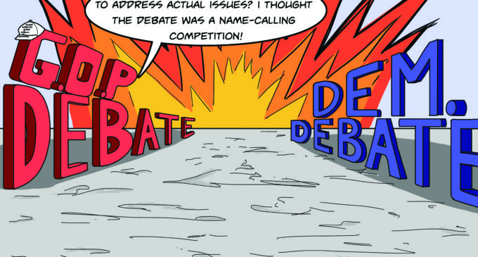 Cartoon: Dum Dum Debate