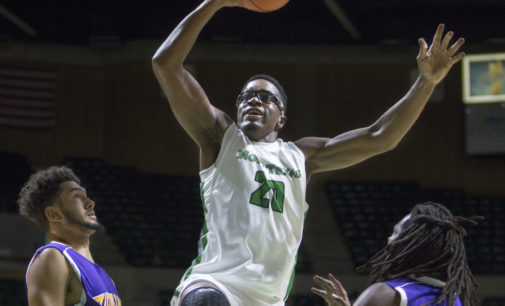 Notre Dame transfer Katenda finds home in Denton after accident impairs vision