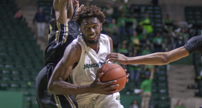 Men's basketball snaps seven game skid with win over Nicholls State
