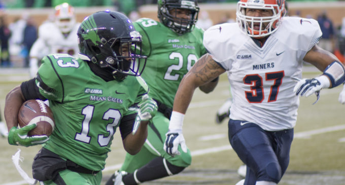 Mean Green football lose despite winning turnover battle