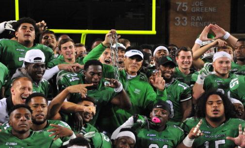 Mean Green football relieved to break eight game losing streak