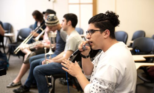 Local hip-hop artist, funk band collaborate on album
