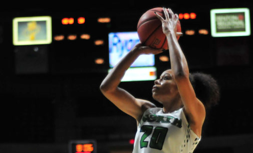 Women's basketball offense improving from low totals last season
