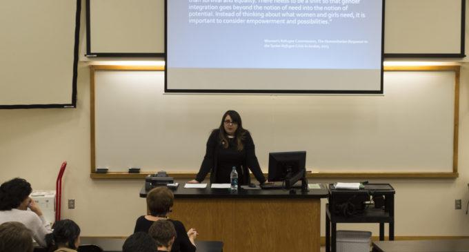 TCU professor Dr. Rima Abunasser speaks about Syrian refugee crisis