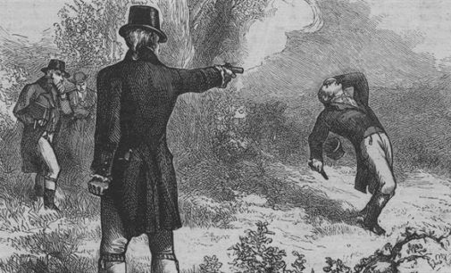 It's time to reinstate the duel in American politics