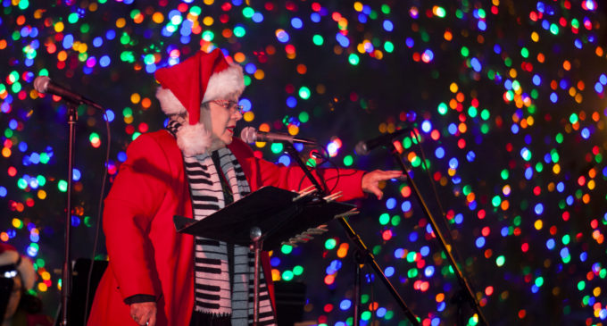 Festival lights up Denton for the holidays