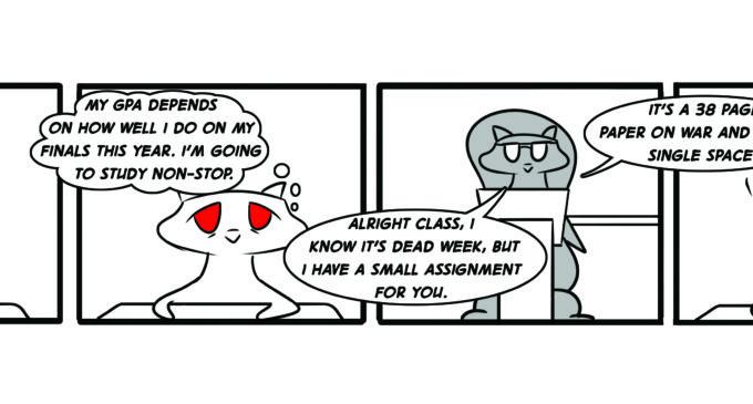 Comic: Dead Week