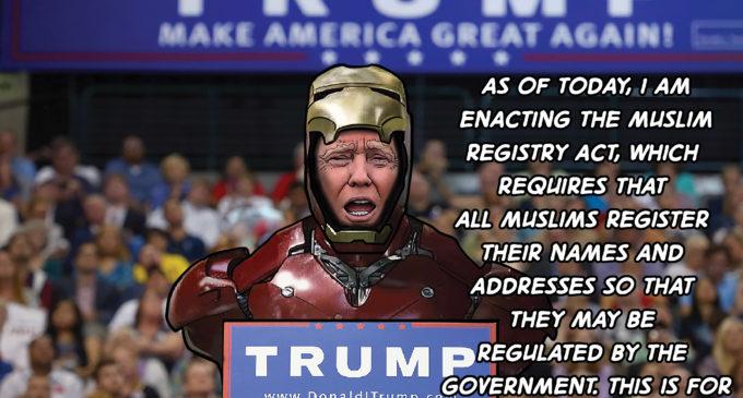 Cartoon: Trump Logic