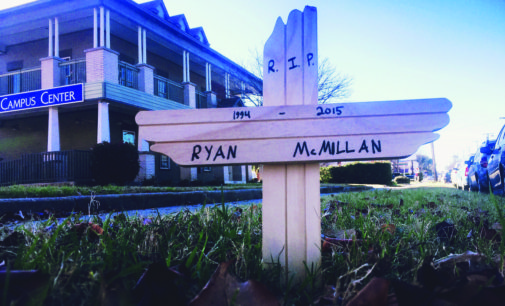 University quiet in wake of McMillan death