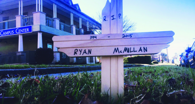 University quiet in wake of McMillan death