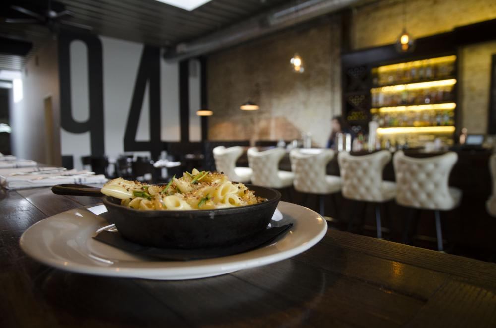 940 Offers A Shared Plates Menu Option Featuring Four Cheese Mac Made With Penne