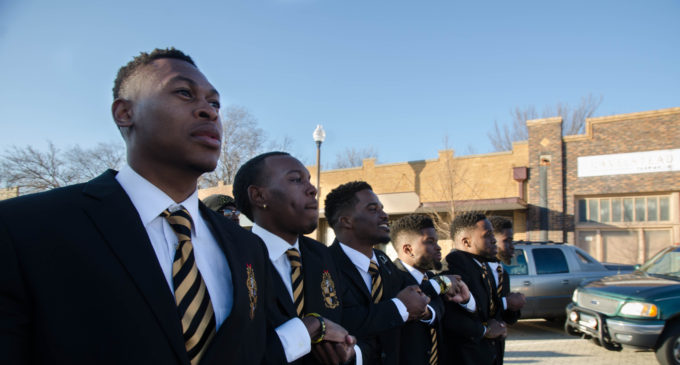 UNT Alpha Phi Alpha lead MLK Day march and rally