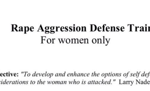 Women only: Denton police offer rape defense training for Valentine's Day